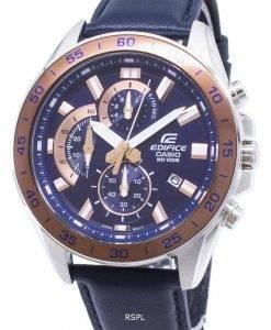 Montre Casio Edifice EFV-550L-2AV EFV550L-2AV chronographe Quartz homme