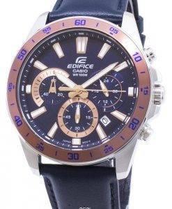 Montre Casio Edifice EFV-570L-2BV EFV570L-2BV chronographe Quartz homme