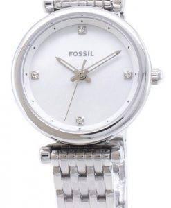 Carlie fossiles ES4430 Quartz analogique femme montre