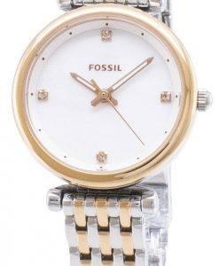 Carlie fossile ES4431 Quartz analogique femme montre
