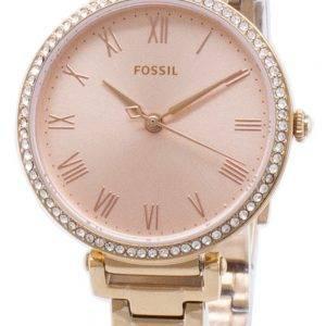 Fossiles Kinsey ES4447 diamant Accents montre féminin Quartz
