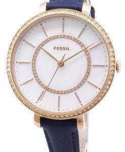 Fossiles Jocelyn ES4456 diamant Accents montre féminin Quartz