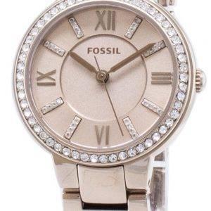 Fossiles Virginia ES4482 diamant Accents montre féminin Quartz