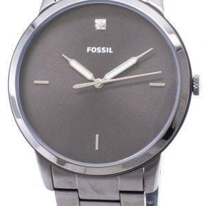 FS5456 minimaliste fossiles Quartz analogique montre homme