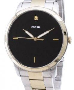 FS5458 minimaliste fossiles Quartz analogique montre homme