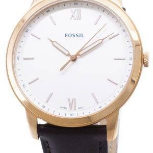FS5463 minimaliste fossiles Quartz analogique montre homme