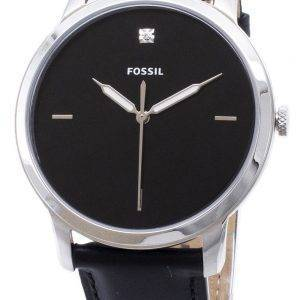 FS5497 minimaliste fossiles Quartz analogique montre homme