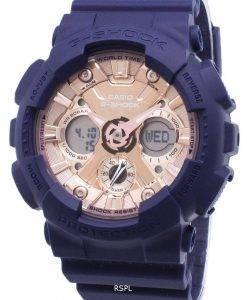 Casio G-Shock GMA-S120MF-2 a 2 GMAS120MF-2 a 2 Analog Digital 200M montre Femme