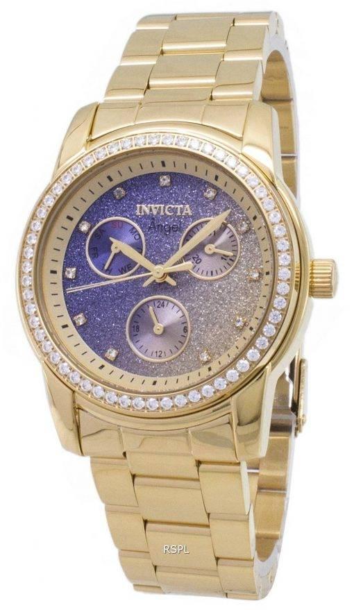 Ange de Invicta chronographe 23822 diamant Accents Montre femme