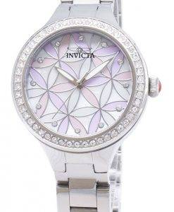 Watch femmes de Quartz analogique Accents Invicta Wildflower 28823 Diamond