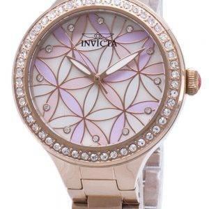 Watch femmes de Quartz analogique Accents Invicta Wildflower 28824 Diamond