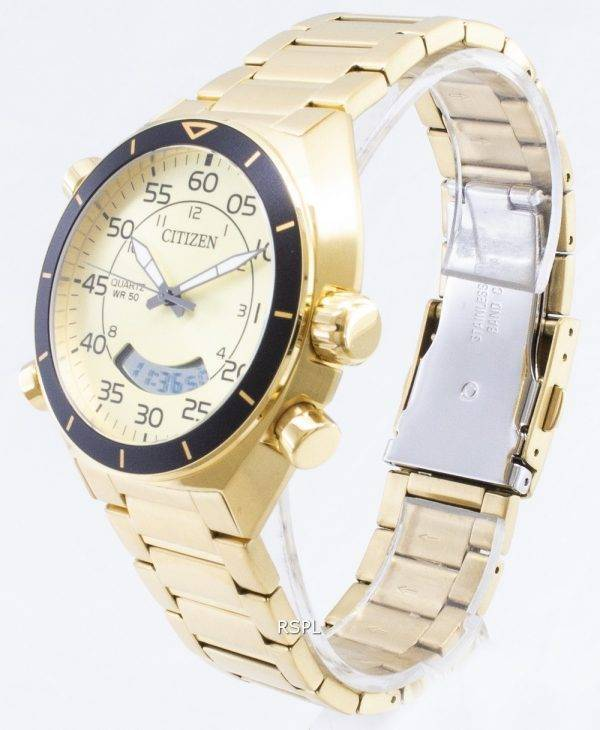 Montre chronographe multifonction citoyen JM5472 - 52p Quartz analogique Digital homme