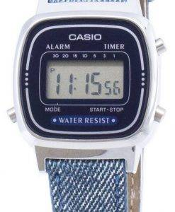 Montre Casio Digital LA670WL-2 a 2 Quartz féminin