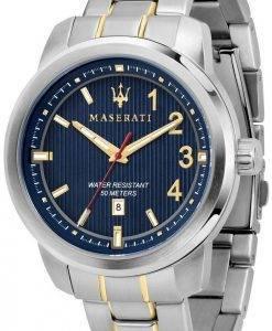 Royale de Maserati R8853137001 Quartz analogique montre homme