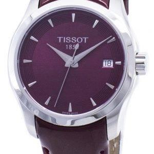 Montre femme Tissot T-Classic Couturier Lady T 035.210.16.371.01 T0352101637101 quartz