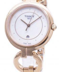 Tissot T-Lady Flamingo T 094.210.33.116.01 T0942103311601 Diamond accents montre femme