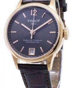 Tissot T-Classic Powermatic 80 T 099.207.36.447.00 T0992073644700 Automatic montre femme