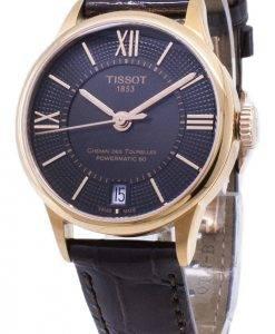 Tissot T-Classic Powermatic 80 T 099.207.36.448.00 T0992073644800 Automatic montre femme