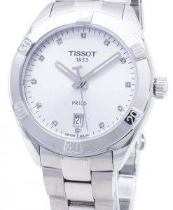Tissot T-Classic PR 100 Sport T 101.910.11.036.00 T1019101103600 Diamond accents quartz montre femme