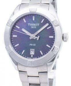 Tissot T-Classic PR 100 T 101.910.11.121.00 T1019101112100 quartz Analog montre femme