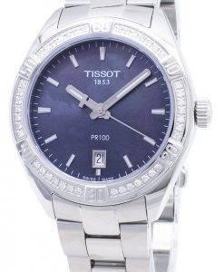 Tissot T-Classic PR 100 Lady Sport T 101.910.61.121.00 T1019106112100 Diamond accents quartz montre femme