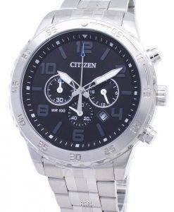 Citizen quartz AN8130-53E chronographe analogique montre homme
