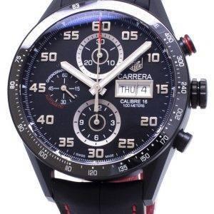 Tag Heuer Carrera CV2A81. FC6237 calibre 16 chronographe automatique montre homme