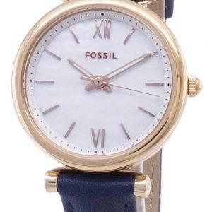 Fossil Carlie mini ES4502 quartz analogique montre femme