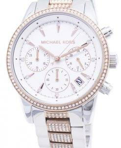 Michael Kors Ritz MK6651 chronographe Diamond accents montre femme