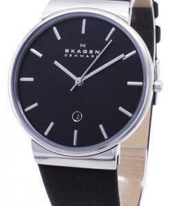 Montre Skagen Ancher Quartz cadran noir SKW6104 masculin