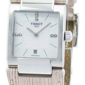 Montre Tissot T-Lady T02 Quartz diamant Accent T090.310.16.116.00 T0903101611600 féminin