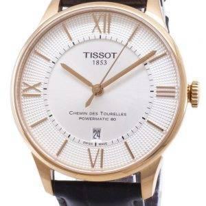 Tissot T-Classic Chemin Des Tourelles T099.407.36.038.00 T0994073603800 Powermatic 80 montre homme