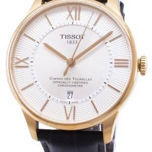 Tissot T-Classic Chemin Des Tourelles T099.408.36.038.00 T0994083603800 Powermatic 80 montre homme