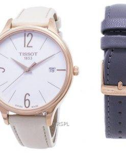 Tissot T-Lady Bella ora Round T 103.210.36.017.00 T1032103601700 quartz montre femme