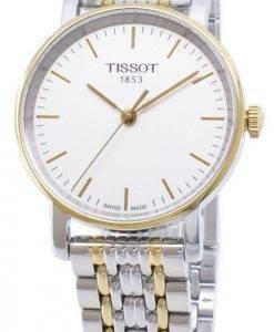 Tissot T-Classic Everytime petit T 109.210.22.031.00 T1092102203100 quartz analogique montre femme