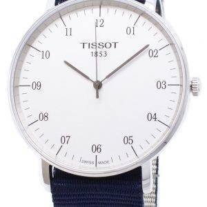Tissot T-Classic Everytime grand NATO T 109.610.17.037.00 T1096101703700 quartz analogique montre homme