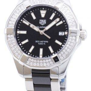 Tag Heuer Aquaracer WAY131E. BA0913 Diamond accents quartz 300M montre femme