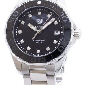 Tag Heuer Aquaracer WAY131M. BA0748 Diamond accents quartz 300M montre femme