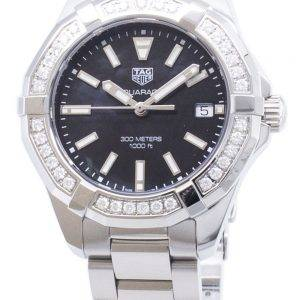 Tag Heuer Aquaracer WAY131P. BA0748 Diamond accents quartz 300M montre femme