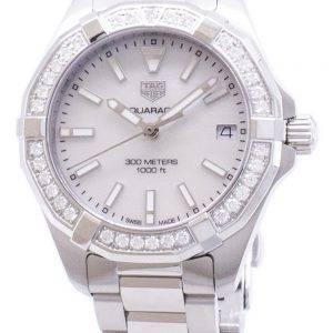Tag Heuer Aquaracer WBD1313. BA0740 Diamond accents quartz 300M montre femme