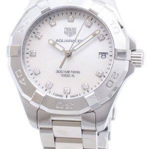 Tag Heuer Aquaracer WBD1314. BA0740 Diamond accents quartz 300M montre femme