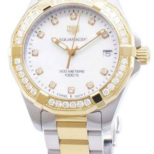 Tag Heuer Aquaracer WBD1323. BB0320 Diamond accents quartz 300M montre femme