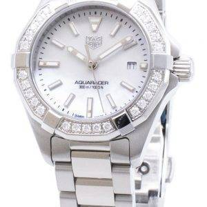 Tag Heuer Aquaracer WBD1413. BA0741 Diamond accents quartz 300M montre femme