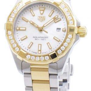 Tag Heuer Aquaracer WBD1421. BB0321 Diamond accents quartz 300M montre femme