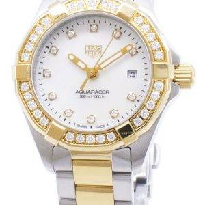 Tag Heuer Aquaracer WBD1423. BB0321 Diamond accents quartz 300M montre femme