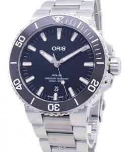 Oris Aquis Date 01 733 7730 4154-07 8 24 05PEB 01-733-7730-4154-07-8-24-05PEB Montre-bracelet pour hommes 300M 300M Automatic