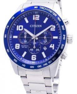 Montre Citizen Chronographe AN8161-50L Tachymeter Quartz pour Homme