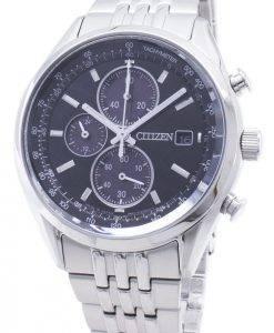 Montre Citizen Eco-Drive CA0450-57E pour homme, chronographe analogique
