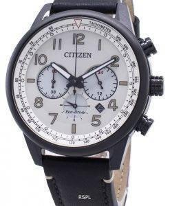 Montre pour homme Citizen Eco-Drive CA4425-10X Tachymeter analogique