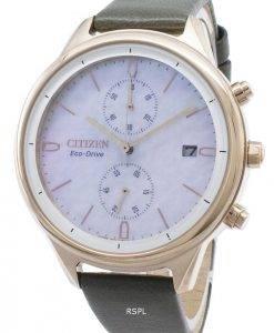Citizen Chandler FB2008-01D Montre chronographe pour femme